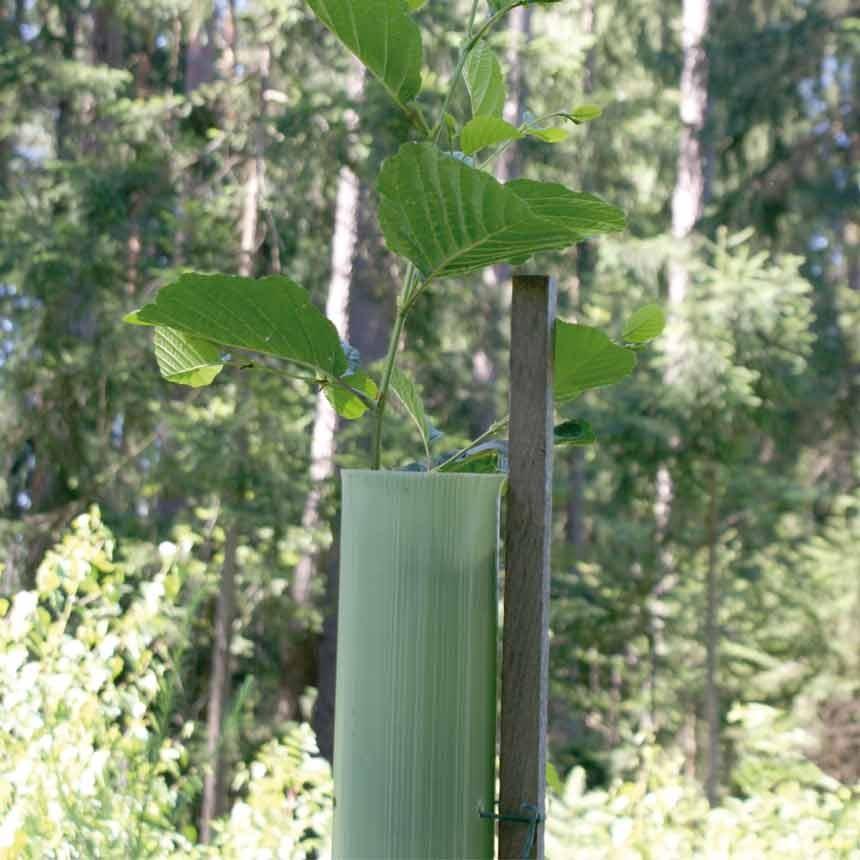 EcoTub Light 120cm standard (ungelocht) - Baumschutzsäule