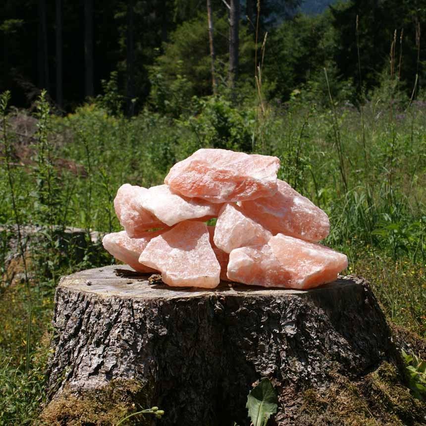 Wildsalz rot, Bergkern gebrochen