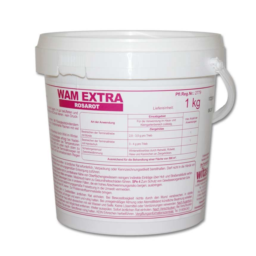 WAM Extra rosarot 1 kg Gebinde