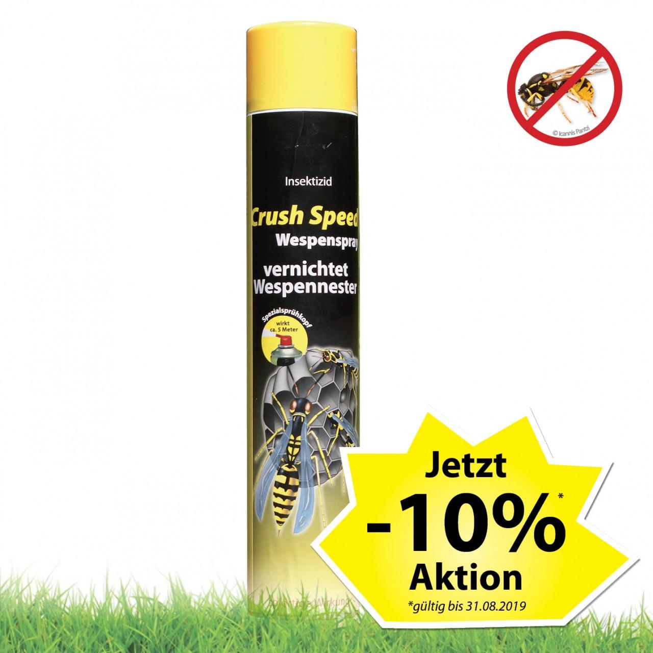 Aktion Crush Speed Wespenspray 750 ml
