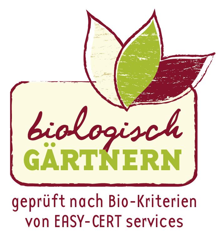 """Gütezeichen """"biologisch gärtnern"""""""