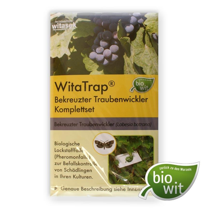 WitaTrap Bekreuzter Traubenwickler Komplettset