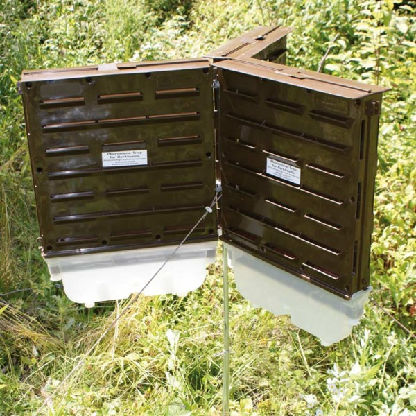 WitaTrap Trap Stand for Three Bark Beetle Slit Traps