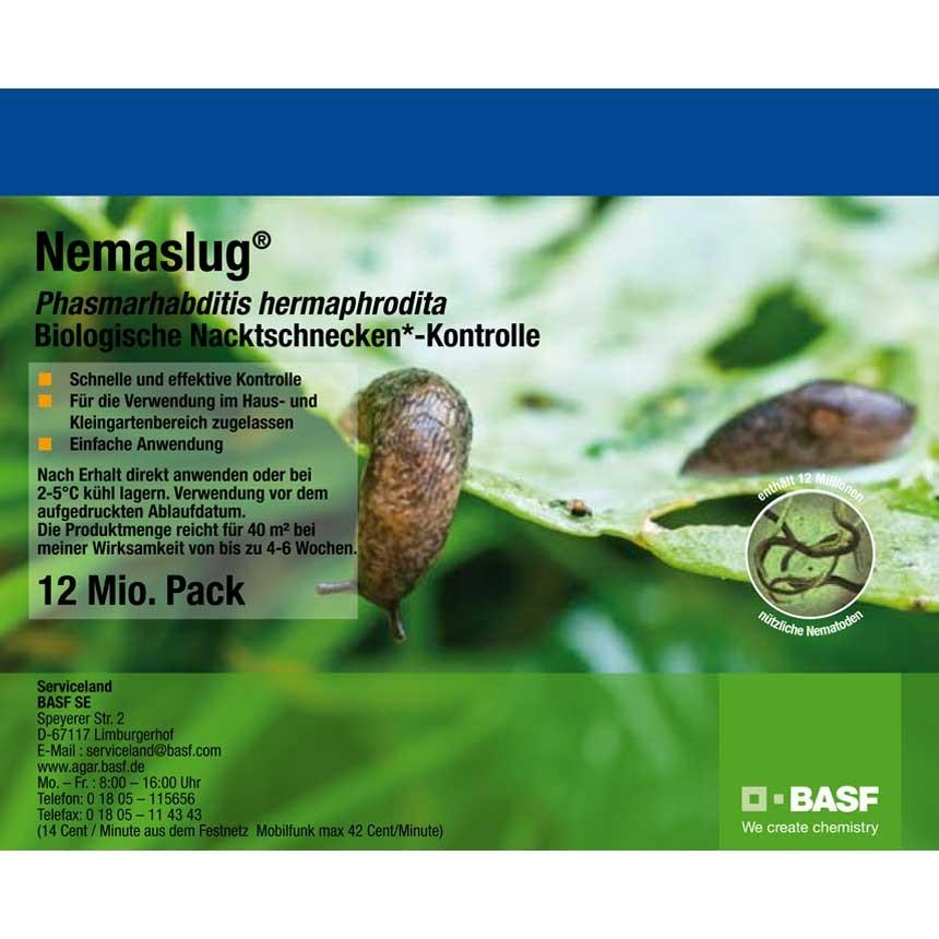 Nemaslug - biologische Schneckenbekämpfung