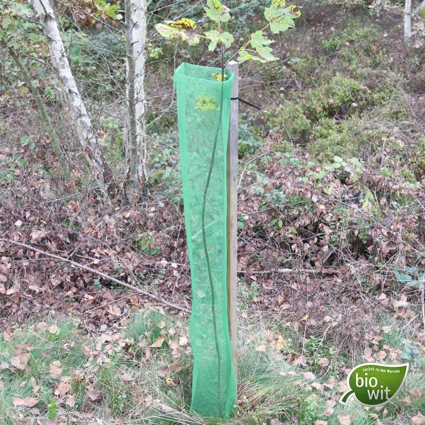 BioWit Klimawit Light 220, 120 cm, biologisches Baumschutzgitter