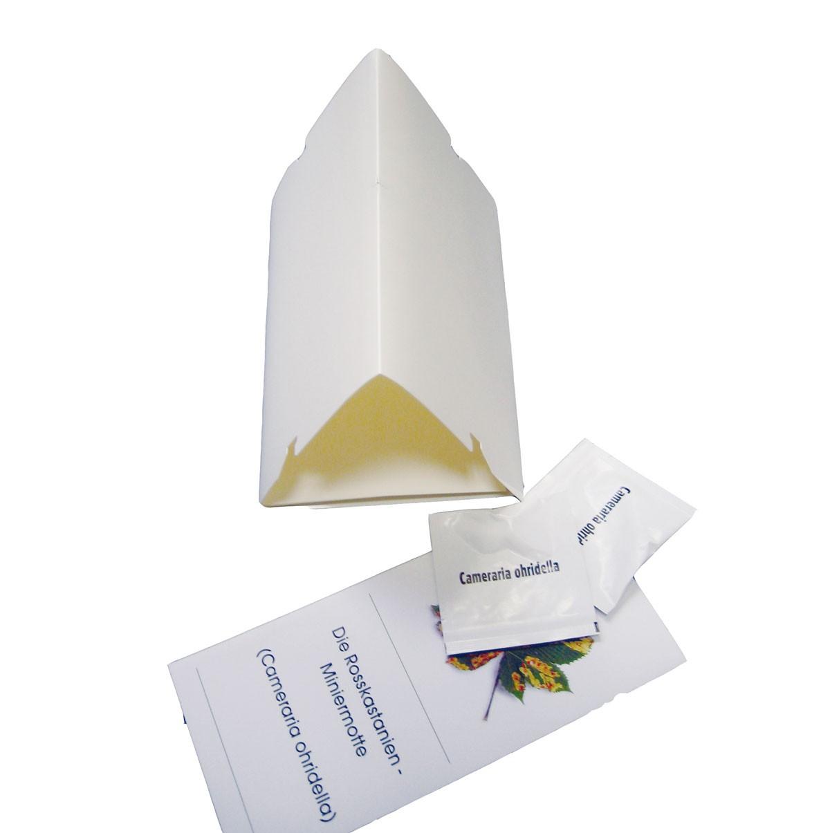 WitaTrap® Kastanienminiermotte Komplett-Set – weiß